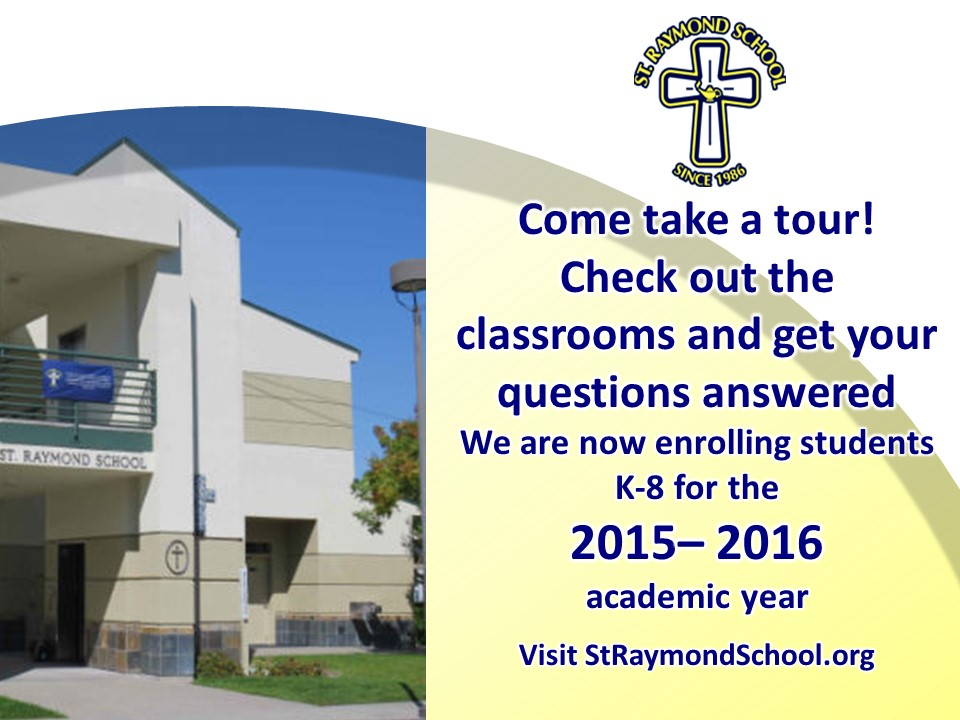 St Raymond School Take a Tour